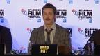 Fury - London Film Festival press conference