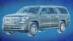 The all-new 2015 Tahoe & Suburban full-size SUVs revealed.