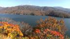 日本の紅葉絶景 富山県 有峰湖と薬師岳 ~ 日本全国 紅葉狩り ~