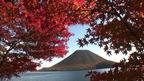 日本の紅葉絶景 群馬県 榛名山と榛名湖 ~ 日本全国 紅葉狩り ~