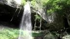 裏見ができる滝 群馬県 棚下の不動滝 ~ 日本全国 滝めぐり ~