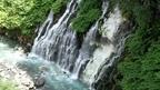 清涼感あふれる滝 北海道 白金温泉 白ひげの滝 ~ 日本全国 滝めぐり ~