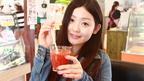 「とかちむら」の「ベル・ポストカッチ」で「ぶたさん」とトマトジュース!@北海道帯広市 Obihiro TOKACHIMURA muffins & tomato juice, Hokkaido