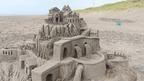 今年の砂像も力作ぞろい!石狩浜サンドパーク2015 @北海道石狩市 Ishikari Beach sand park, Hokkaido