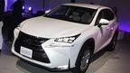 レクサス、新型SUV「NX」披露=泡や光で演出された特設コースを踏破