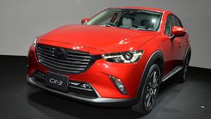 マツダ、コンパクトSUV「CX-3」発売=洗練された躍動感あるデザイン