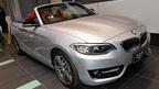 BMW、2シリーズ カブリオレ発表=上品でスポーティーなオープンモデル