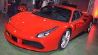 フェラーリ、488 GTB公開=670馬力、0-100キロ加速3秒