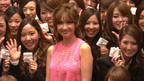 紗栄子、男性新入社員に「女性にもまれて頑張って」