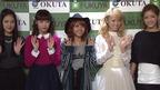E-girlsが初のフォトブック!Aya、Amiらが登場 「カラフル・ダイアリー」刊行記念握手会(1)