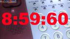 うるう秒の瞬間 8時59分60秒