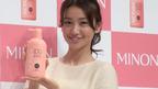 大島優子、入浴シーンで癒される 『ミノン洗浄シリーズ』新TVCM