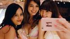 AKB48小嶋陽菜&マギー&大屋夏南、ランジェリーパーティーを公開 秘密のパーティームービー『#PJ_GIRL movie[vol.2]』