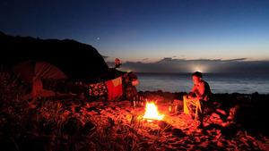 SASURAI-北海道 Scene5  奥尻島の旅 vol.3 島の海を漕ぐ