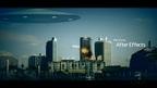 UFO襲来!「ビル崩壊」/After Effects