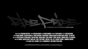[スケートボードDVD] RIDE PRIDE (ライド・プライド)Teaser3
